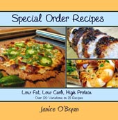 Special Order Recipes by Janice O'Bryan
