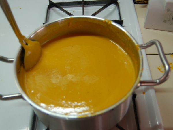 Spicy Pumpkin Soup Dukan Diet Recipe