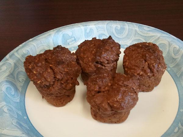 Dukan diet oat bran muffins